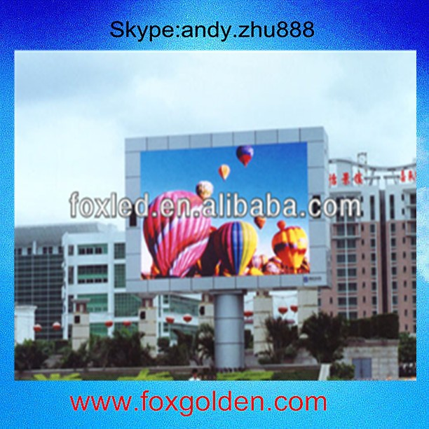 P6 outdoor Mobile LED Advertising Trailer /LongRun RGB P6 Outdoor led display screen 10mm