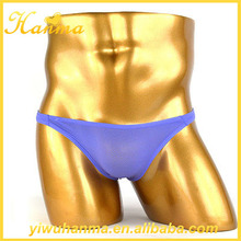 Hot items 2017 new years products translucent fabric briefs sexy men underwear