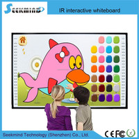 "China best 84"" ten touch IR Screen Whiteboard with CE/FCC/ROHS hot supplying"