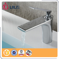 (A0098) Hot and cold copper faucet,chrome basin tap,single handle copper tap