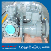 WCB Body A105 Trim Trunnion Mounted Ball Valve