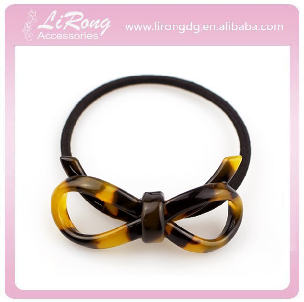 5cm Butterfly Hair Elastic ands Korean Pretty Hair holder Non-toxic Cellulose Acetate Hair Band