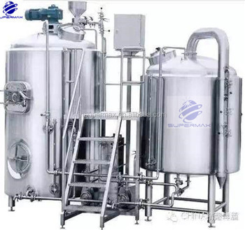 7BBL brewhouse system craft beer brewery equipment and brewhouse steam boiler