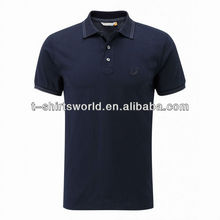 High quality French terry polo shirt