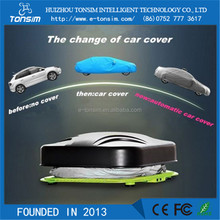 2016 Supply Cheap Retractable Dustproof automatic inflatable car cover