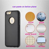 Nano suction Anti gravity covers Antigravity selfie phone cases For iphone 6/6s PC Anti-gravity case