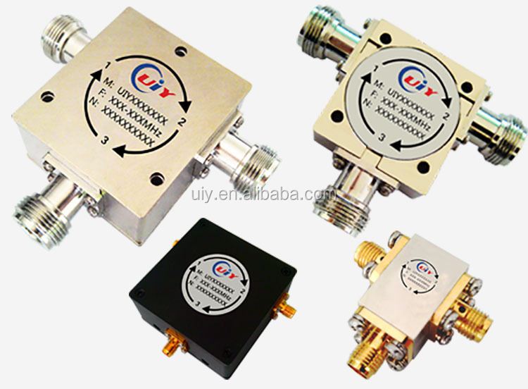 High Power Coaxial Isolator With Connector Type N,SMA Cover Frequency Range From 12Mhz to Ghz