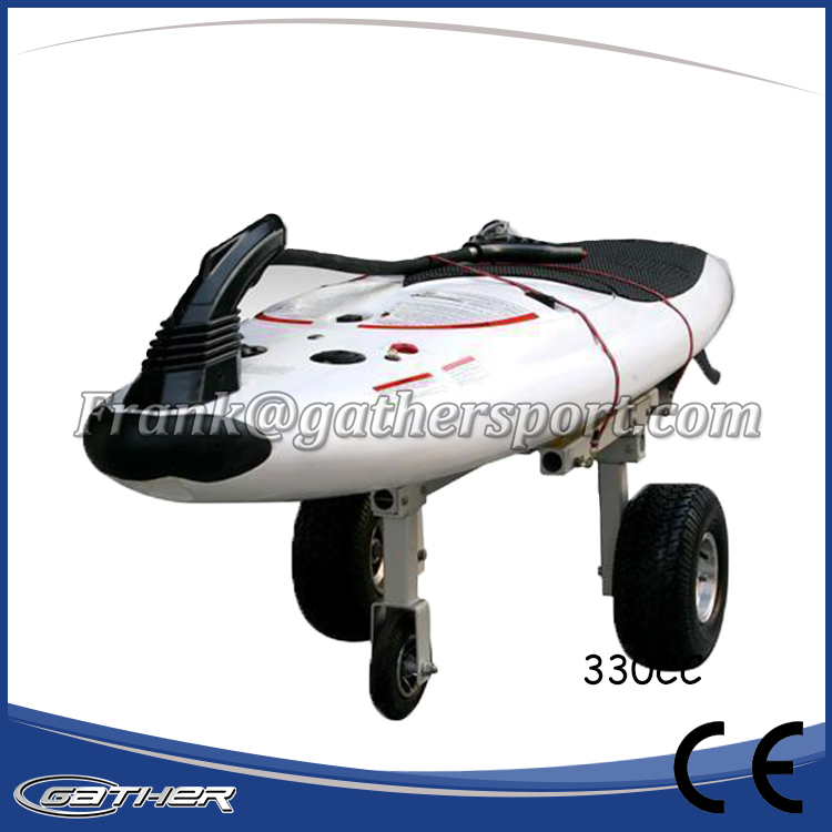 Gather CE 330cc surfboard, motorized surfboard, jet power surfboard