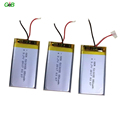 Professional rechargeable 850mAh 503055 3.7V lihtium polymer battery with Certificate