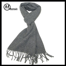 Morewin Brand Men and Women Unisex winter plain thick wool scarf made scarf