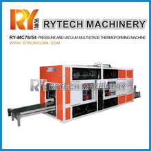 Pressure and Vacuum Multi stage Thermoforming Machine Pressure and Vacuum Forming Machine