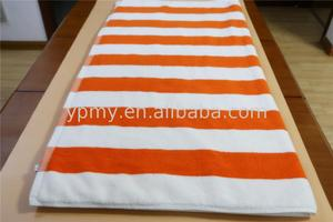 Woven beach towel with manufacturer price wholesale
