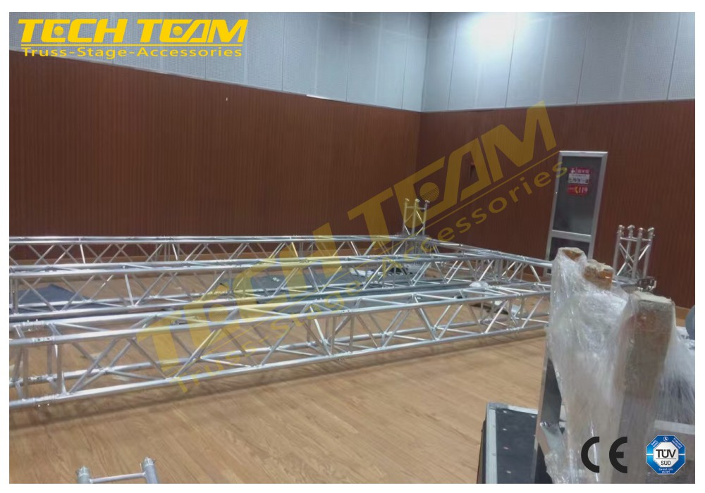 Outdoor LED Stage lighting decoration stands, aluminum truss