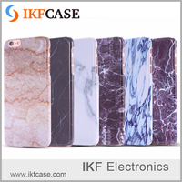 2016 New Arrival Unique Custom Design Phone Cover for iPhone 6S Real Marble PC Sculpture OEM LOGO Phone case