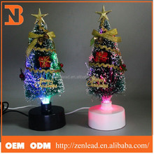 New products unique christmas decoration artificial snowing Christmas tree