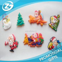 Custom Soft PVC Christmas Home Decoration Fridge Magnets