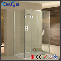 Best quality 3 side complete modern glass shower room