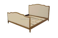 Antique solid wood bed crown single beds for sale
