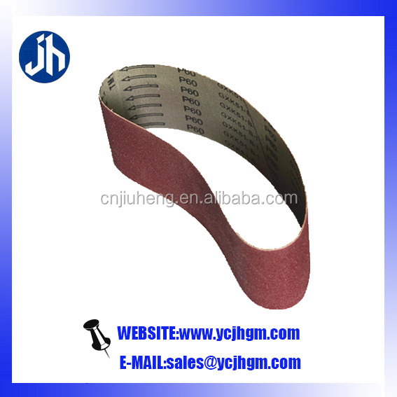 emery sanding belt for metal/wood/stone/glass/furniture/stainless steel