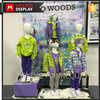 Cute Clothes Display Model FRP Children Mannequin Doll