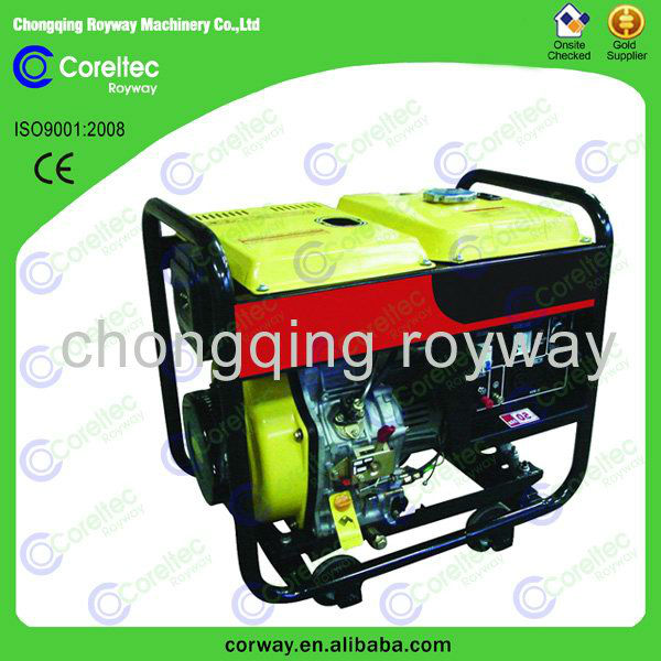 diesel generator with open/silent type single phase CE&ISO cerification diesel generator fuel pump