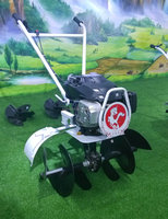 6.5hp factory price hand tiller tractor rotary hoe manufacture ridger machine hilling motor tiller