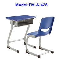 High school used plastic school desk chair for sale