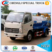 Hot selling KAMA mini 3000liters Vacuum Cleaner Truck Sewage Tanker Truck