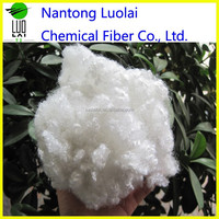 hollow fiber hollow conjugated silicon recycled cotton fiber