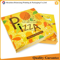 Cheap price customized 6-20 inch full color cardboard pizza box packaging