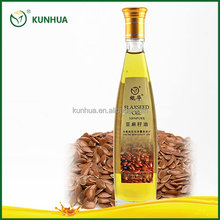 Kunhua Brand Virgin Extraction Flaxseed Oil Improve Dry Eyes