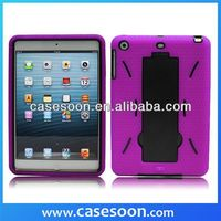 For IPAD MINI HEAVY DUTY RUGGED IMPACT 2 LAYER CASE COVER KICKSTAND,for ipad mini kickstand case