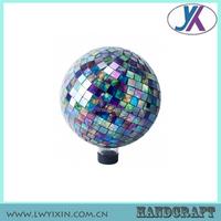 High quality mosaic glass home garden decor globe