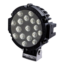 "Factory price 7"" car led Driving light 51W 10-30V DC led offroad light for heavy duty,auto parts,trucks with CE RoHS and IP67"