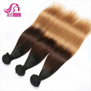 Peruvian Virgin Hair, Wholesale 100% Human Ombre Hair Braiding Straight Virgin Peruvian Hair, Ombre Hair Extension