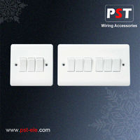British Standard Wall Electrical Light Switch