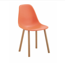 Alibaba Wholesale New design Colorful Plastic Dining Chair