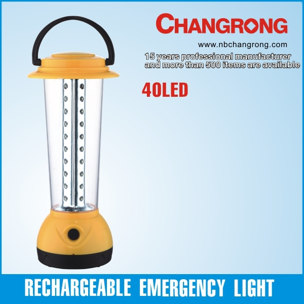 portable rechargeable emergency light lantern manufacturer led lantern 40leds