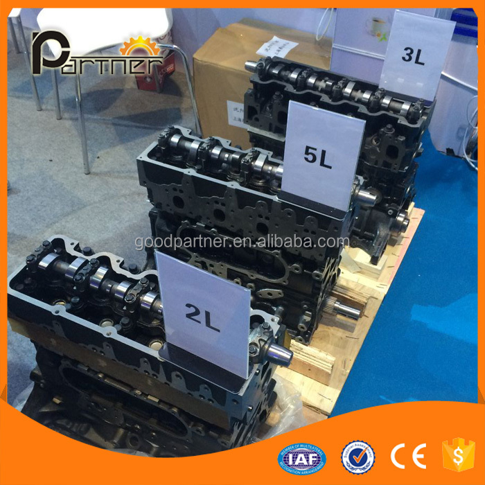 For Car 2L 3L 5L SHORT BLOCK LONG BLOCK Diesel Complete Engine Cylinder Block