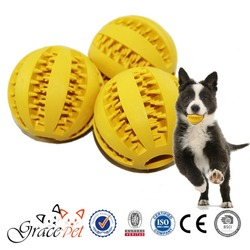 Soft Hard Rubber Ball Dog Toy