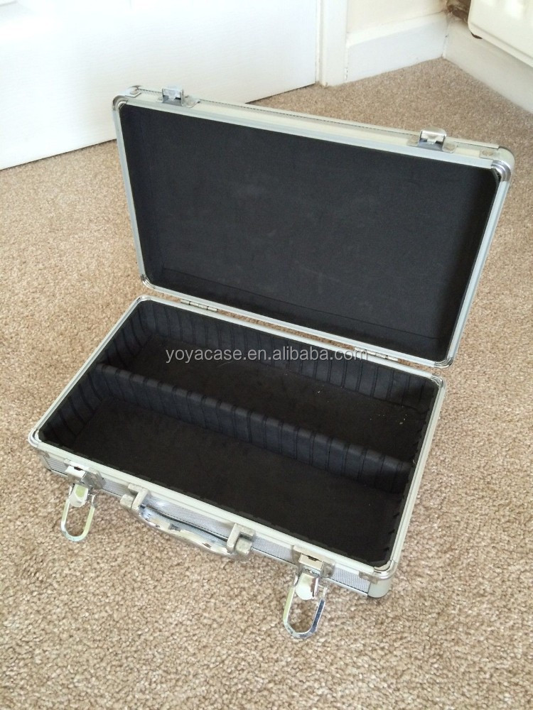 small aluminium flight case with foam padding