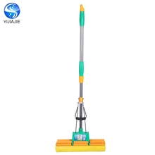 China Supplier easy clean Telescopic PVA Folding Sponge Mop