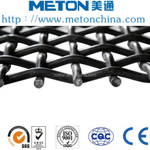 Pre-crimped weave woven vibrating screen mesh China wire mesh manufacturer