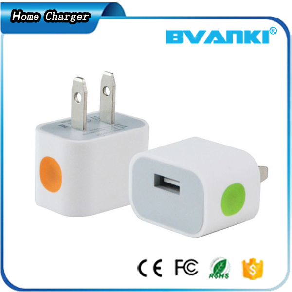 Accessories Handphone Promotional Product Wall Charger For Samsung,5V-1000MA Mini USB Charger For iPhone 6 USB Wall Charger
