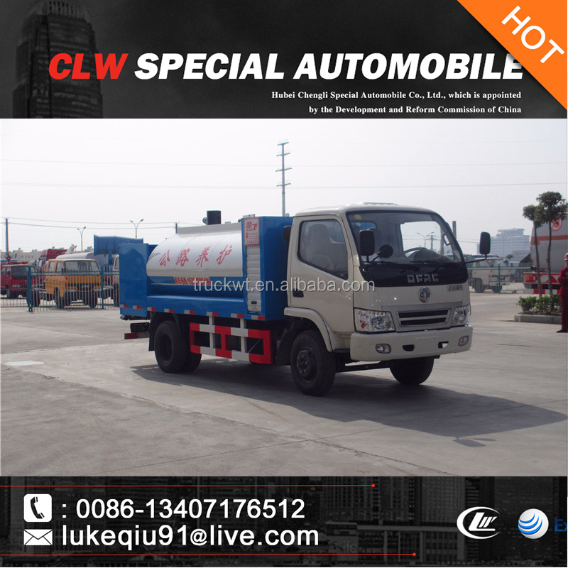 cheap price 4x2 small asphalt paver truck