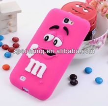 For Samsung Galaxy Note 2 N7100 Lovely Chocolate rubber case cover