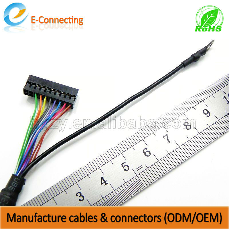 lcd cable trunking sata power data combo cable