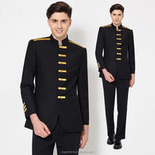 Stylish High Quality Custom Size Fashion Staff Bellboy Uniform hotel uniform/waitress uniform