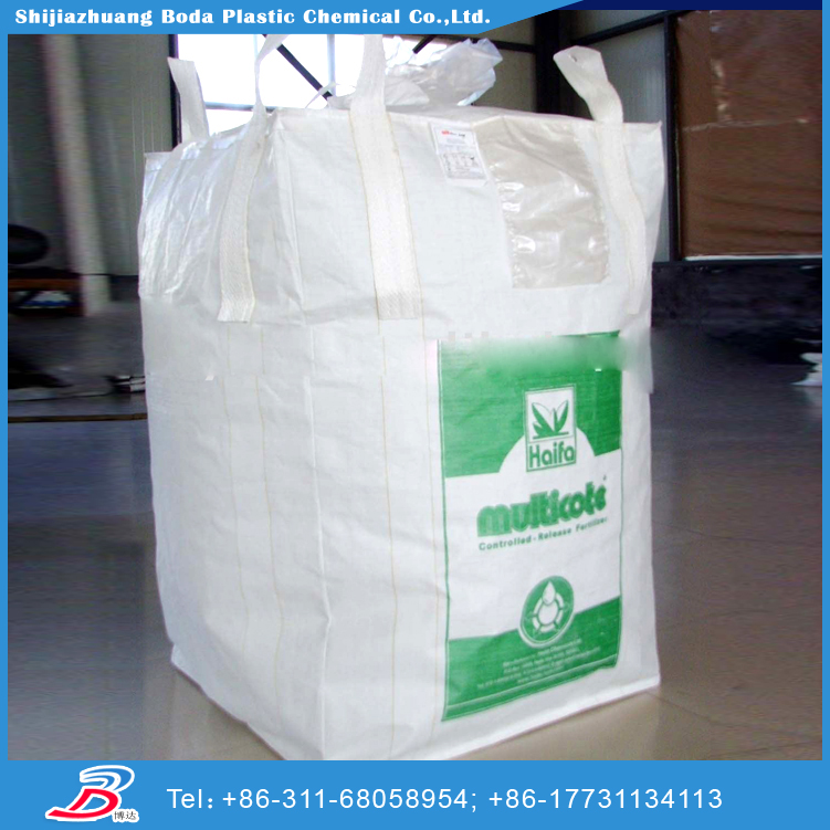 Low price PP Polypropylene Plastic Woven Big Bag Ton Bag For Packing cement China Producer