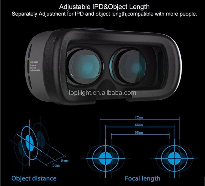 New Virtual Reality Glasses Future Technologies3D Glasses+Bluetooth Air Mouse Remote VR Controller